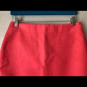 J. Crew pink pencil skirt 4